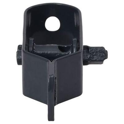 vidaXL Trådspännare 100 st 100 mm stål antracit