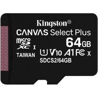 Kingston Micro SD 64 GB Minneskort Class 10