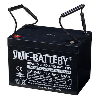 VMF AGM Djupurladdningsbatteri 12 V 63 Ah EV12-63