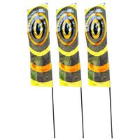 Velda Fågelskrämma flaggor 3 st 100 cm 148205