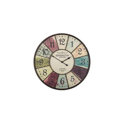 Väggklocka flerfärgad BOSWIL