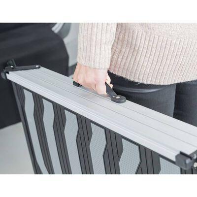 TRIXIE Hopfällbar hundramp 3 steg 78-175 cm aluminium