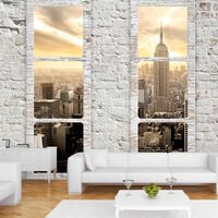 Fototapet - New York: View From The Window - 100x70 Cm