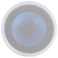 vidaXL Inbyggnadshögtalare med diskant tak/vägg 180 W