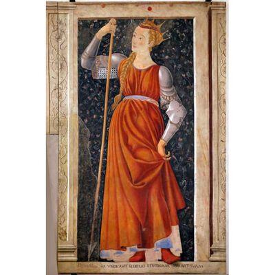 Famous Persons: Queen Tomyris,Andrea del Castagno,60x40cm