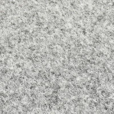 vidaXL Konstgräs med halkskydd 10x1 m grå
