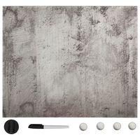 vidaXL Magnetisk glastavla väggmonterad 60x60 cm