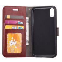 """Mobilplånbok 3-kort Apple iPhone XS Max (6.5"""") Brun"""