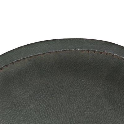 vidaXL Fladdermusfåtölj grå äkta läder