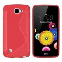 S Line silikon skal LG K4 2016 (K120E) Röd