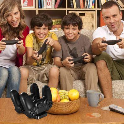Dubbel laddningsstation för 2 PS4 kontroller