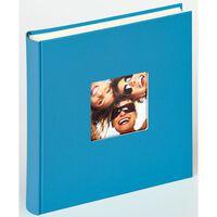Walther Design Fotoalbum Fun 30x30 cm havsblå 100 sidor