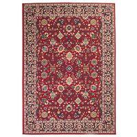 vidaXL Orientalisk matta 160x230 cm röd/beige,