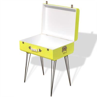 vidaXL Sängbord 2 st 49,5x36x60 cm gul