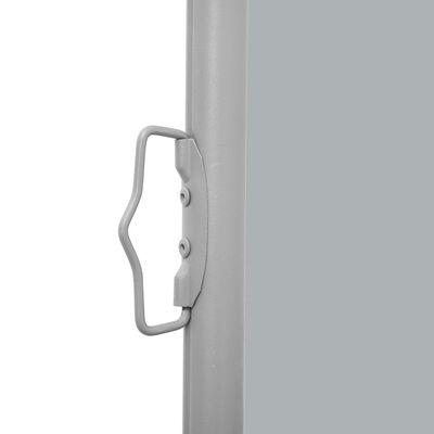 vidaXL Infällbar sidomarkis antracit 120x1000 cm