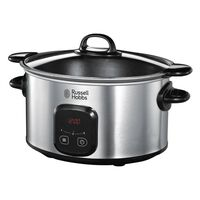 Russell Hobbs Slow Cooker MaxiCook 6 L silver 170-240 W
