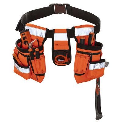Toolpack Verktygsbälte med hög synlighet Sash orange och svart