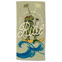 Good Morning Badlakan SURF GEEK 75x150 cm grön