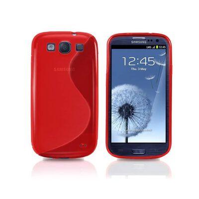 S Line silikon skal Samsung Grand Duos (GT-i9082) Röd