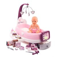 Smoby Elektronisk docksäng Baby Nurse
