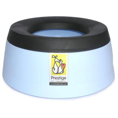 Road Refresher Spillfri vattenskål för husdjur stor grå LGRR,