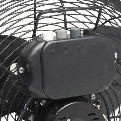 Bestron Golvstående fläkt 35 cm 55 W svart DFA30