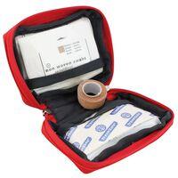 Travelsafe Första hjälpen-låda 17 delar Globe Scout röd