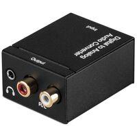 Digital till analog ljudomvandlare - D/A omvandlare