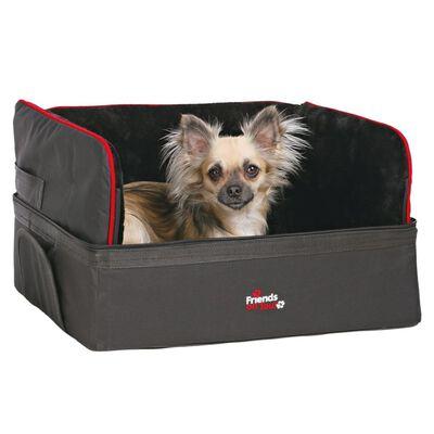 TRIXIE Bilsits för små hundar 45x38x37 cm svart 1322