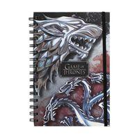 Game of Thrones Anteckningsblock - Varg & Drake