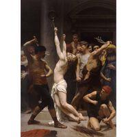 The Flagellation of Christ,Adolphe William Bouguereau,60x40cm