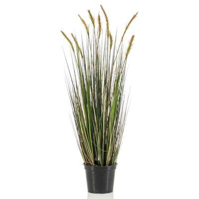 Emerald Konstväxt kavlengräs i plastkruka höst 90 cm
