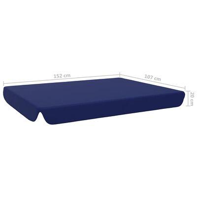 vidaXL Reservtak för hammock blå 192x147 cm
