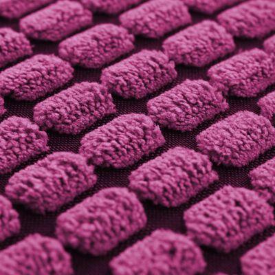 vidaXL Kudde 2 st velour rosa 45x45 cm