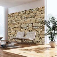 Fototapet - Stone Wall - 300x210 Cm
