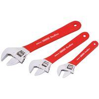 Draper Tools Redline Skiftnyckelsats 3 st 67634