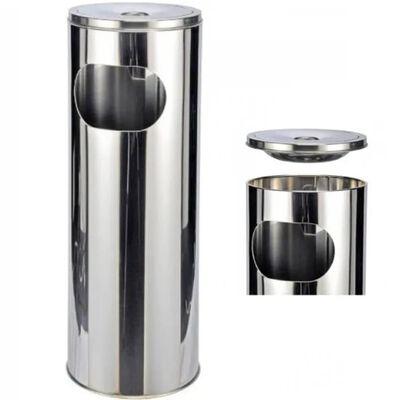 HI Askfat/soptunna silver 58 cm