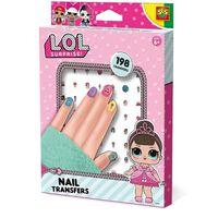 L.O.L. Surprise! LOL Nail Transfers Stickers Nageldekorationer