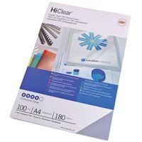 GBC Plastfickor HiClear A4 240 mikron