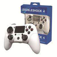 Trådlös 6-axis handkontroll för PS4 - Vit