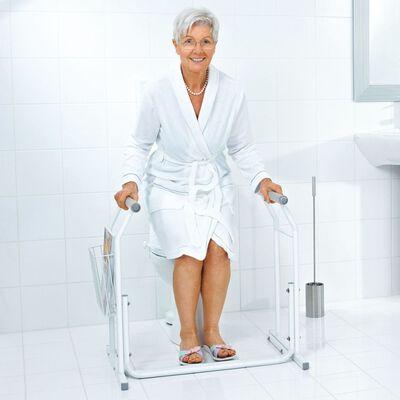 RIDDER Mobilt stödhandtag för toaletter vit 100 kg A0110101