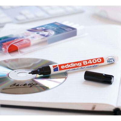 edding Märkpenna för CD/DVD/BD 4 st flerfärgad 8400