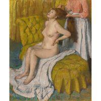 Wash and dress,Edgar Degas,50x40cm