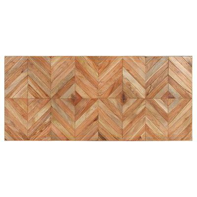 vidaXL Matbord 200x90x76 cm massivt akaciaträ och mangoträ