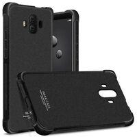IMAK shockproof silikon skal Huawei Mate 10 (ALP-L29) Matt Svart