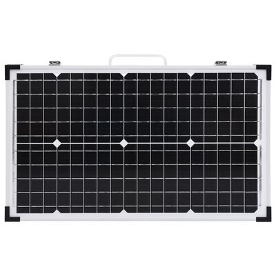 vidaXL Vikbar solpanel 60 W 12 V