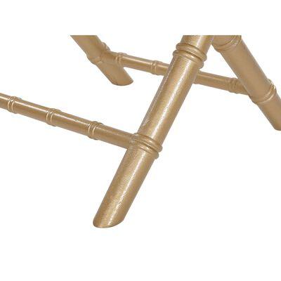 Stol 4 st hopfällbar guld MACHIAS