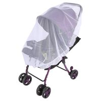 Vit Myggnät Insektsnät för Barnvagn