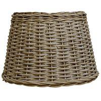 vidaXL Lampskärm korg 50x30 cm brun