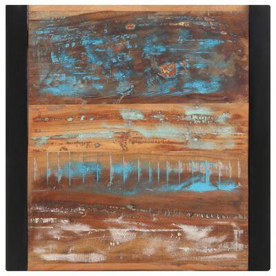 vidaXL Matbord 60x60x75 cm massivt återvunnet trä